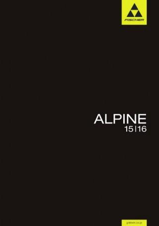 FISHER ALPINEスキーカタログ[2015-2016]
